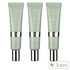 3 X Clinique Super City Block Oil-Free Daily Face Protector 40ml Sun Care
