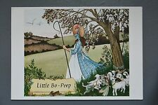 R&L Modern Postcard: Medici Little Bo Beep Nursery Rhymes, Sandy Nightingdale