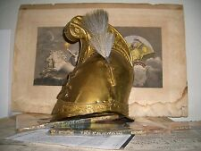 Antique French 6th Corps Mounted Artillery Helmet Empire of Maximilian I Mexico