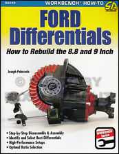 How to Install a 9-inch Ford Differential into 1955 1956 1957 Chevy Car Rear End