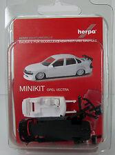 Herpa 012393-003  Herpa MiniKit: Opel Vectra Rennport schwarz / black