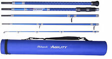 Shakespeare Agility 2 EXP 5-Piece Travel Beach Rod 11ft 6ins 4-8oz + Travel Tube