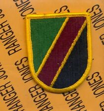 Special Operations Support Command Airborne SOSC beret flash patch m/e #1