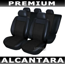 Seat Covers Faux leather Alcantara black Alfa Romeo 156