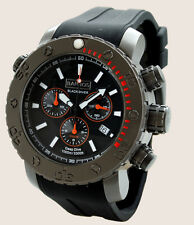 BARBOS BLACK DIVER CHRONOGRAPH WATERRESISTANT 3300ft/1000m DIVER WATCH  (US).