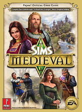 The SIMS Medieval Prima Official Strategy Game Guide (EA) - New and Sealed