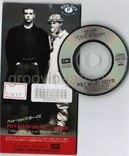 "PET SHOP BOYS So Hard JAPAN 3"" CD TODP-2203 Ex-Rental Unsnappped/Unfolded"