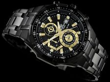 Brand New casio 539 - EFR BK chronograph wrist watch for men completely black