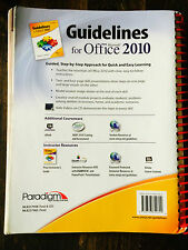 Guidelines for Microsoft Office 2010 by Nancy Muir and Anita Verno (2011,S#5075