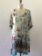 JOHNNY WAS BUTTERFLY TUNIC NWT SIZE S RUNS BIG