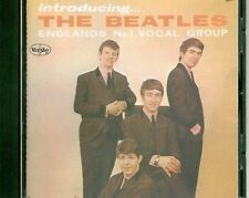 Inroducing The Beatles CD in Mono w Rare Ad Back