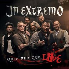 IN EXTREMO - QUID PRO QUO LIVE (LIMITED DIGIPACK EDITION)  2 CD NEU