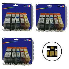 3 Juegos De No-OEM C05/08 x5 Tinta Para Canon MP600 MP600R MP610 MP800 MP800R MP810