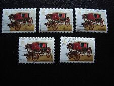 VATICAN - timbre yvert et tellier n° 1061 x5 obl (A28) stamp (Z)