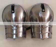 Medieval Spaulders Combat Pauldron Hand Crafted Authentic Gothic shoulder pair