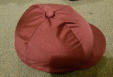 Size 4 Riding hat with cover. Used. 7 3/8 7 1/2