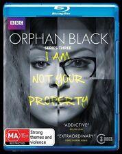 Orphan Black - Series : Season 3 : NEW Blu-Ray