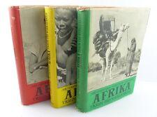 3 Bücher: AFRIKA - Traum und Wirklichkeit - erster bis dritter Band e777