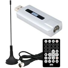 August DVB-T210 - HD Freeview USB TV Tuner - External DVB-T2 Digital Televisi...