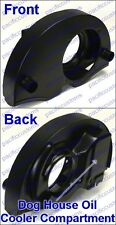 Black VW Beetle Dog House Fan Shroud For 1600Cc+ With The Heater Ducts