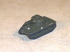 N Scale Military OD Green M4A3 Sherman Tank. (Fire Fly)