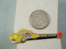 HARD ROCK CAFE PIN NEW YORK TAXI GUITAR