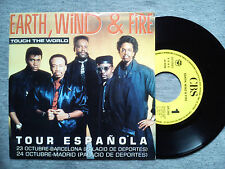 "EARTH, WIND & FIRE - ""TOUCH THE WORLD"" - SPANISH ONLY PROMOTIONAL VINYL SINGLE"