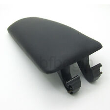 Black Armrest Arm Rest Center Console Lid Cover For 2002-2005 Audi A4 B6 B7