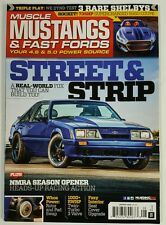 Muscle Mustangs & Fast Fords Street Strip NMRA Opener Aug 2016 FREE SHIPPING JB