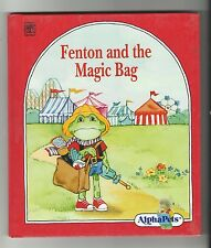 Grolier AlphaPets {Fenton and the Magic Bag} 1990 VG