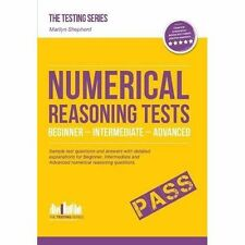 NUMERICAL REASONING TESTS (Testing Series), Very Good Condition Book, Shepherd,