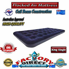 Top Quality Heavy Duty King Single Size Flocked Inflatable Air Bed Mattress Camp