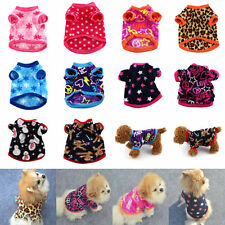 Multi-color Pet Shirt Soft Puppy Cat Dog Winter Sweater Coat Clothes Apparel ZY