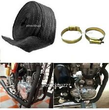 Silencer Wrap Bike Exhaust Heat Shield LENGTH-3 m For Royal Enfield Bullet