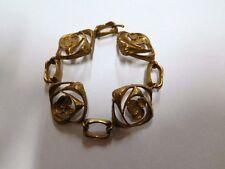Classic design by Karl Laine, Finland: Vintage 70's Original Bronze Bracelet.