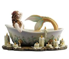 "8.5"" BATHTIME By Selina Fenech Mermaid Fantasy Nautical Decor Statue Sculpture"