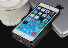 *Aluminum Ultra thin Metal Bumper Case Cover For iPhone 5 5S 6 6plus Free Film