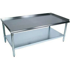 Stainless Steel Equipment Stand Grill 24 x 60 - Heavy Duty