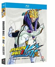 DRAGON BALL Z KAI - COMPLETE SEASON 3 -  Blu Ray - Sealed Region free