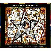 STEVE EARLE   -  I'll Never Get Out Of This World Alive   (2015)  CD