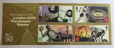GB 2012 Welcome to London 2012 Paralympic Games - Mini Sheet MNH MS3371