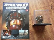 STAR WARS HELMET COLLECTION MAGAZINE ISSUE 13 NABOO PILOT DeAGOSTINI NEW