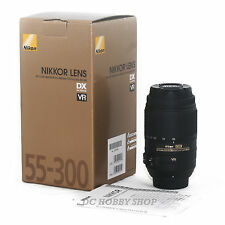 Objetivo Nikon AF-S DX NIKKOR 55-300mm f/4.5-5.6G ED VR Nikkor 55-300 mm VR Lens