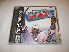 Wayne Gretzky 3D Hockey 98 (Playstation PS1) Game Brand New, Factory Sealed!
