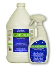Bed Bug and Dust Mite ERADICATOR Combo 24oz Ready to Use Spray & 1 Gallon Refill
