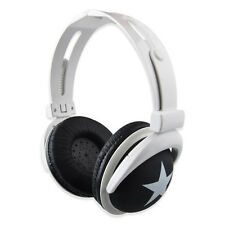 3.5mm Over-Ear Adjustable Star Funky DJ Headphones for Kids Childrens Lovely VNC