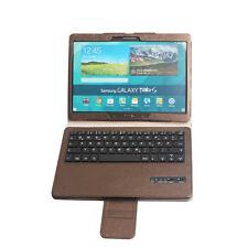 For Samsung Galaxy Tab S 10.5 T800 T805 Genuine Leather Case+ Bluetooth Keyboard