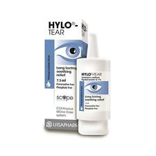 Hylo-Tear Eye Drops 7.5ml - Long lasting soothing relief (preservative free)