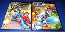 Mega Man Anniversary & X Collection PS2 Bundle Factory Sealed!! One Day Ship!!