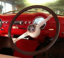 LEATHER STEERING WHEEL COVER / GLOVE VAUXHALL WYVERN VELOX CRESTA L E PA PB PC